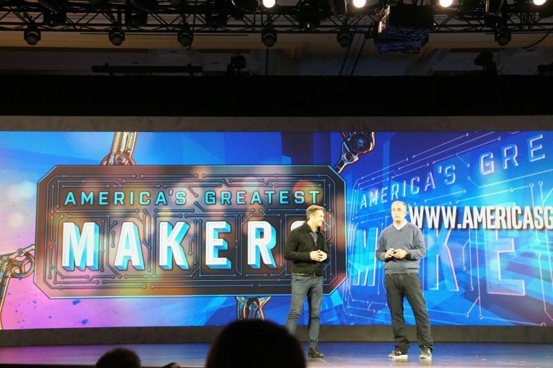 """IntelとMGMテレビジョン&デジタルグループが共同で行なっていくメイカー向けのコンテストとなる""""America's Greatest Makers""""を紹介"""
