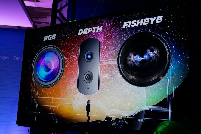 RGBカメラ、深度センサー、魚眼レンズが搭載される予定