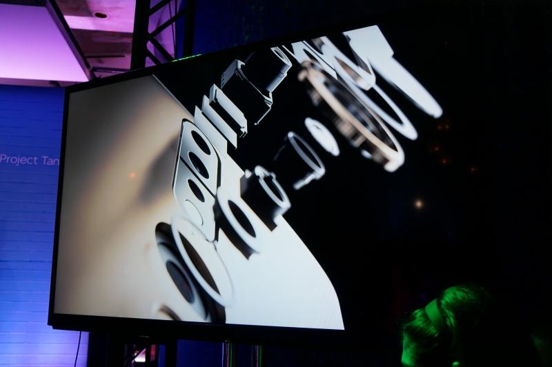 Lenovoが開発中のProject Tango搭載スマートフォンのイメージ