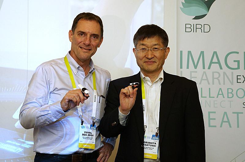 MUV Interactive COO ユバール・ベンゼーブ氏(左)とMUV Interactive 日本代表 森下正敏氏