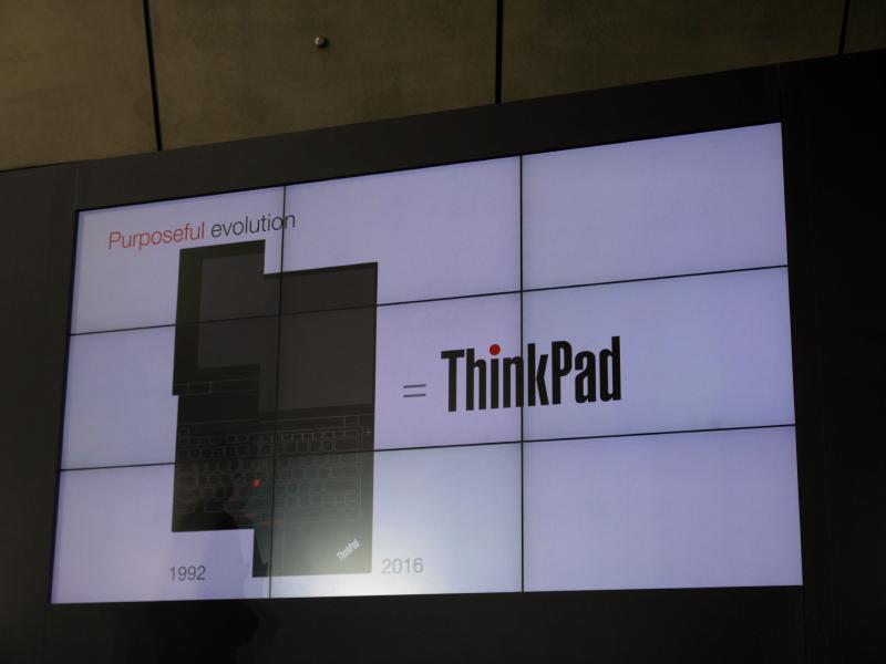 ThinkPadのデザインは1992年から変わっていない