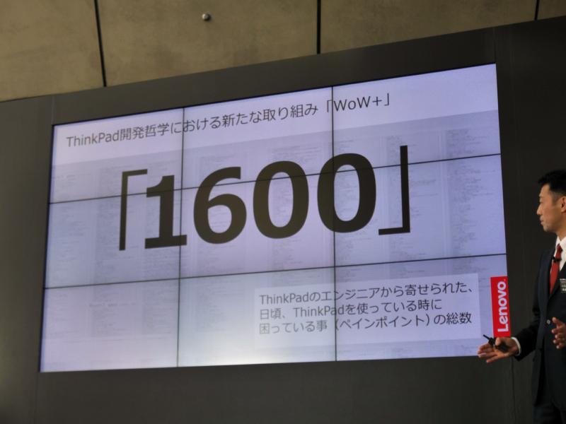 WoW+の取り組みが開始されてから開発エンジニアから寄せられた声の数は1,600を超える