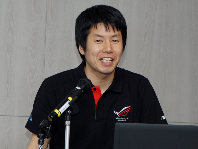 ASUS JAPAN株式会社 テクニカルプロダクト シニアマネージャーの西康宏氏