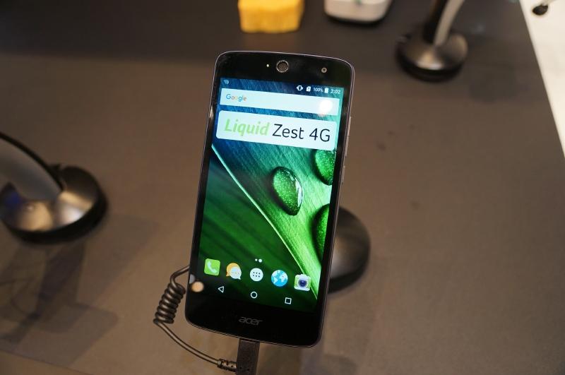 Liquid Zest 4G、5型HDのIPS液晶を搭載するAndroidスマートフォン