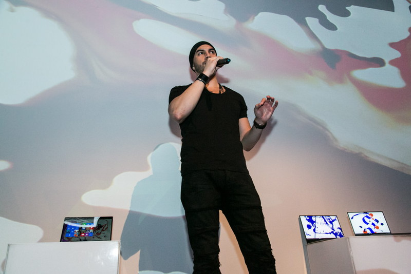 ニューヨークでの「New XPS」発表イベントでの様子