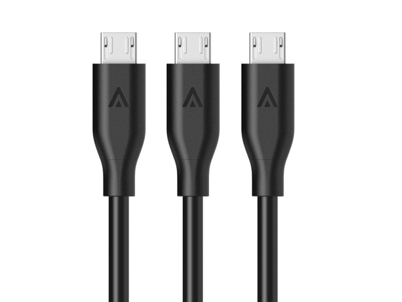 「Anker PowerLine Micro USBケーブル 3本セット」