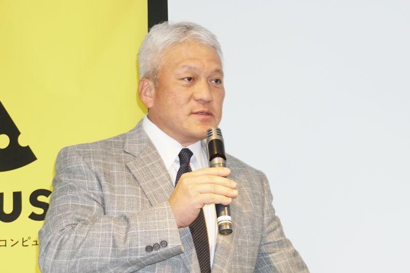 マウスコンピューター代表取締役社長の小松永門氏