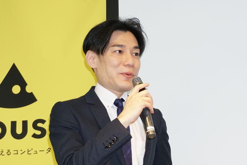 コンシューマ営業統括部 部長の氏家朋成氏