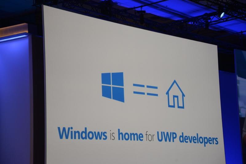 WindowsはUWP開発者の故郷でもある