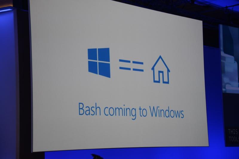 Ubuntuとのパートナーシップで、BashがWindowsにやってくる