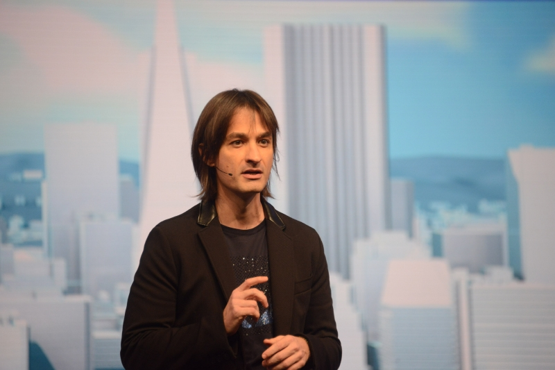 Hololensを担当するOS GroupのTechnical Fellowであるアレックス・キップマン氏