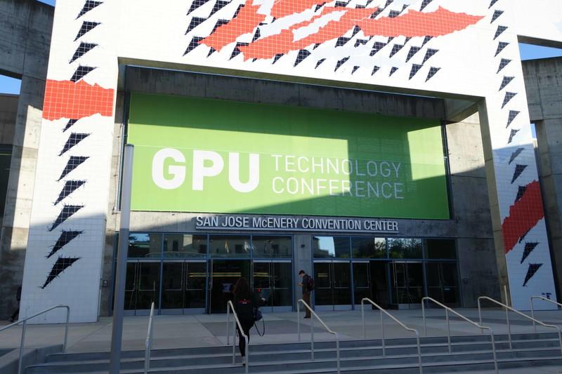 GTCの会場となったSan Jose McEnery Convention Center