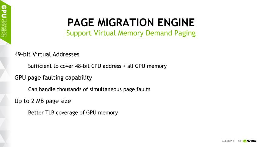ページマイグレーションエンジンと呼ぶバーチャルメモリ関連の拡張