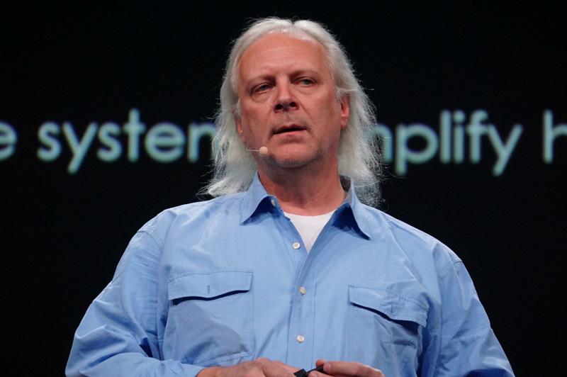 IBM フェロー兼 副社長 兼 Watson担当CTO(最高技術責任者)のロブ・ハイ氏