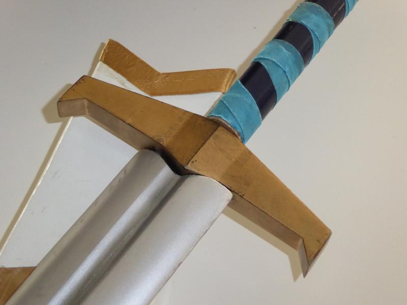 剣の鍔と柄頭を3Dプリンタで制作