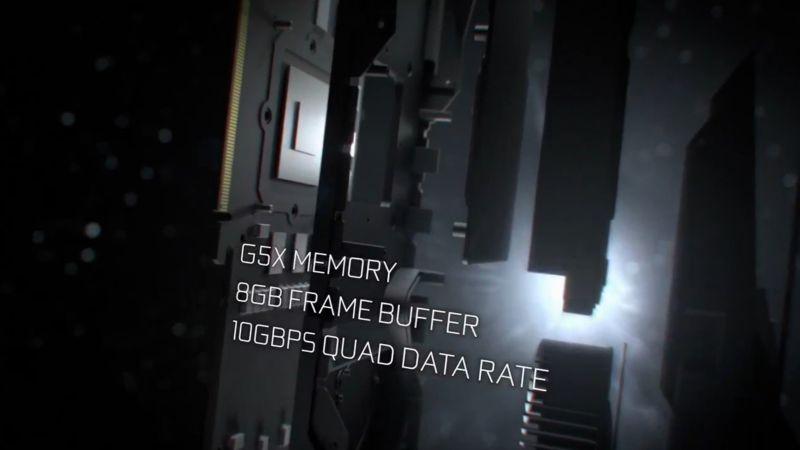 8GB/10GbpsのG5Xメモリを搭載