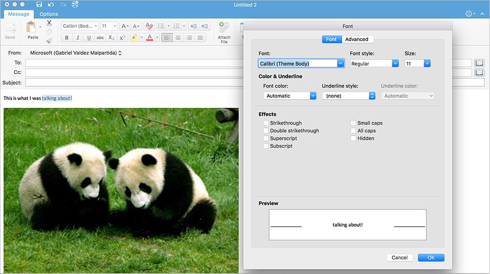 フォントの色、箇条書き、フォントの拡張編集とハイパーリンクダイアログを追加