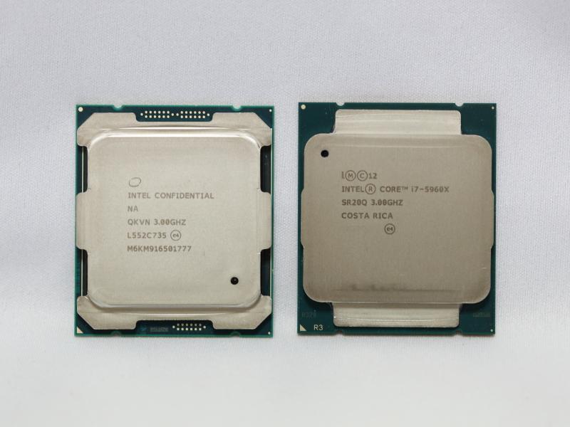 Core i7-5960X(写真右側)との比較