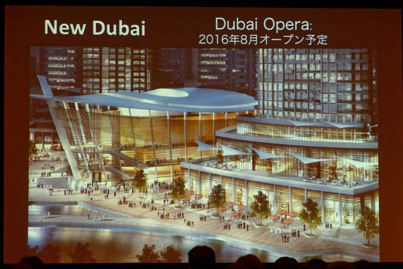 ザハ・ハディド氏設計のオペラハウス「Dubai Opera」が8月にオープン
