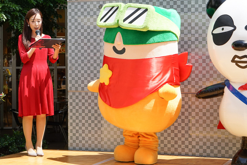 成田国際空港のマスコットキャラクター「クウタン」