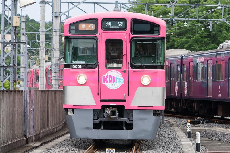 SEIBU KPP TRAINの正面