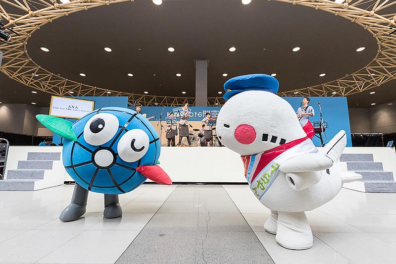 関西国際空港のカンクン、大阪国際空港のそらやんも登場