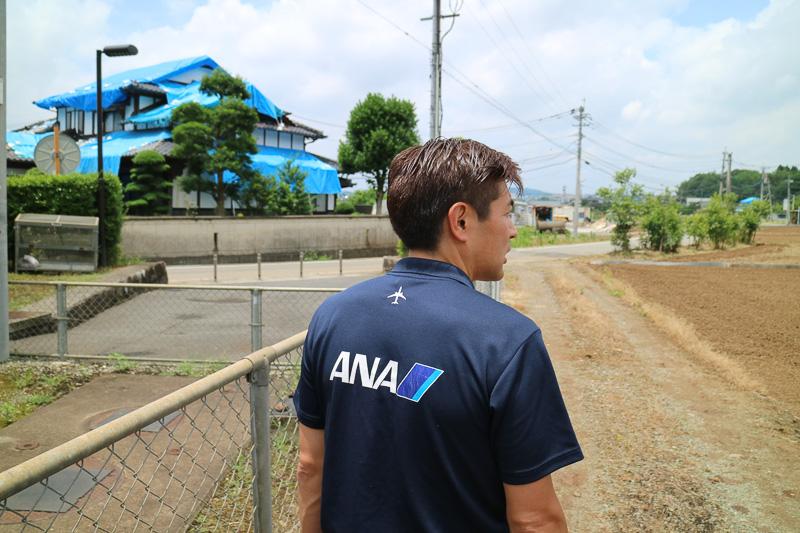 梶木氏を含めたANA社員一行は4月24日に熊本に入り、クルマで3日間で500kmほど走って町、村を回り、いろいろな人たちから話を聞いたという