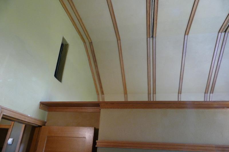 ドーム型の天井