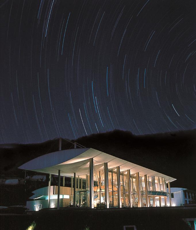 「雲の上のホテル」(梼原町)
