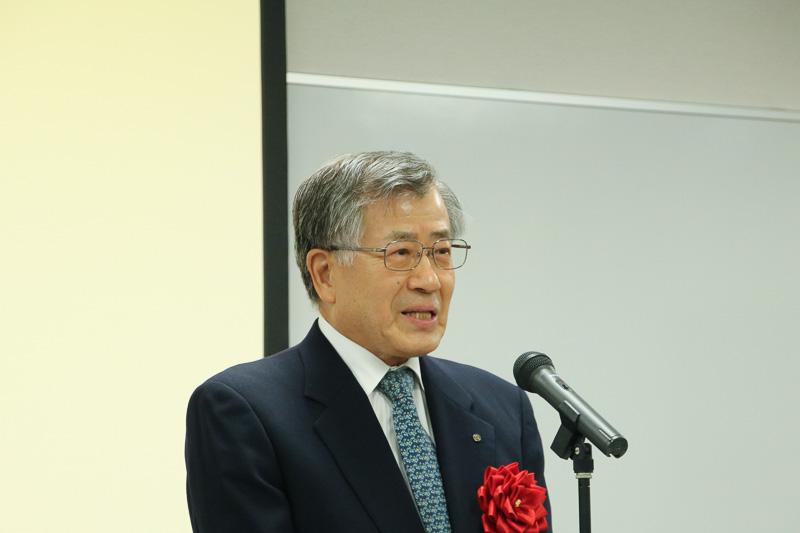 近畿車輛株式会社 代表取締役社長 森下逸夫氏