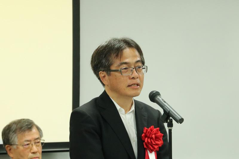 川崎重工業株式会社 理事 車両カンパニー営業本部長 村生弘氏