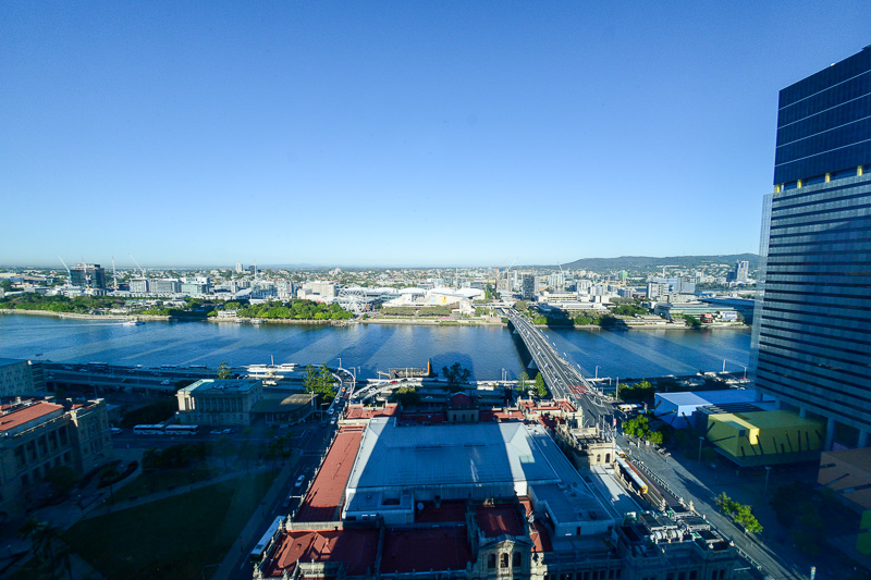 ibis Styles Brisbane Elizabeth Streetからの眺め