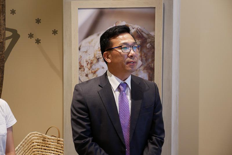 SULBING創業者のチョン・ソンヒ氏。日本留学時に和菓子が広く受け入れられていることに感銘を受け、韓国伝統菓子を使った新感覚スイーツのSULBINGを作り出したという