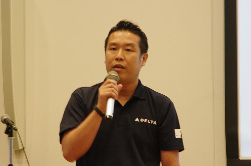 デルタ航空 東日本地区代理店 営業部 統括部長の海貝哲生氏