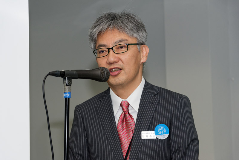 仙台国際空港株式会社 代表取締役社長 岩井卓也氏