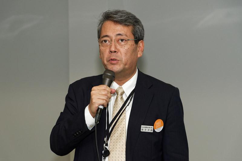 仙台国際空港株式会社 管理部長 金子次郎氏