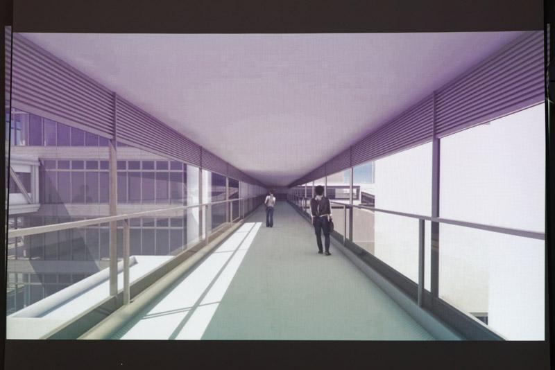 ピア棟内部のイメージ
