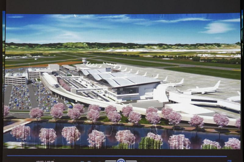 施設拡充後の空港全体のイメージ