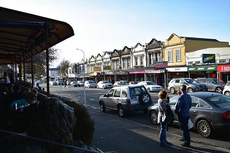 ポンソンビーの街並み