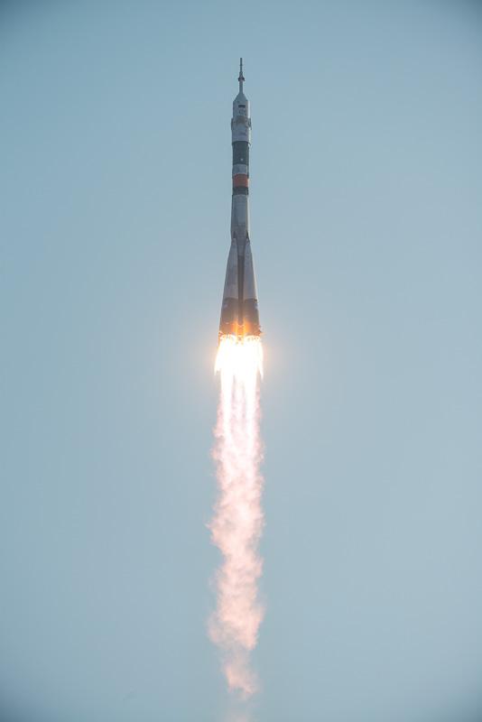 大西卓哉宇宙飛行士は、これから約4カ月間を宇宙で過ごすことになる(画像出典:NASA)