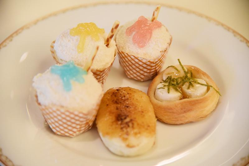 「ホワイトチョコミントロール」「芋もちブレッド」「五平餅風ブレッド