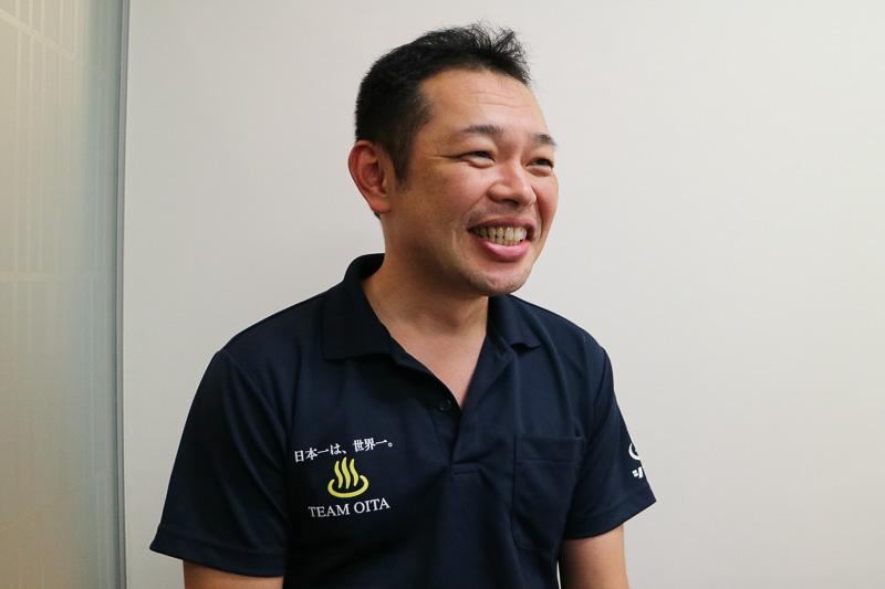 由布市環境商工観光部 副主幹の小俣功氏