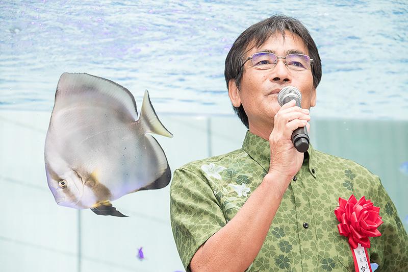 沖縄美ら海水族館 館長 宮原弘和氏