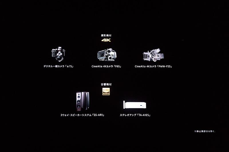 撮影機材やハイレゾサウンドの再生機材の紹介