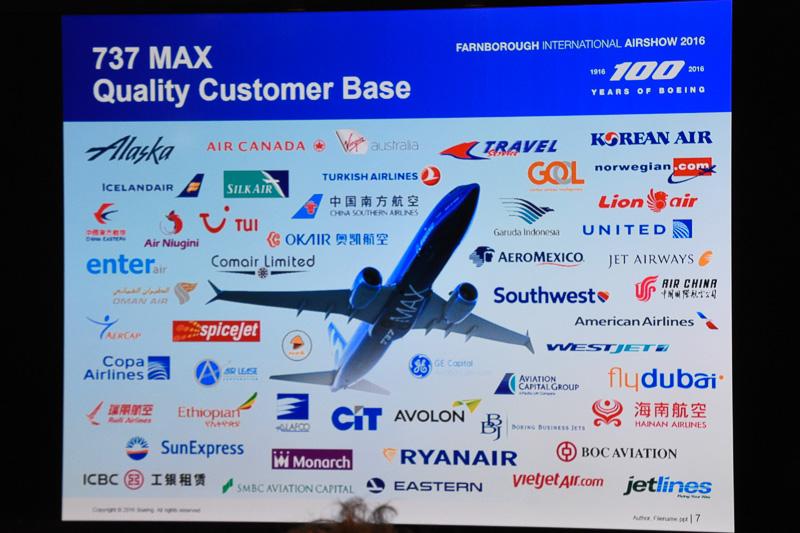 ボーイング 737 MAXシリーズを発注している航空会社