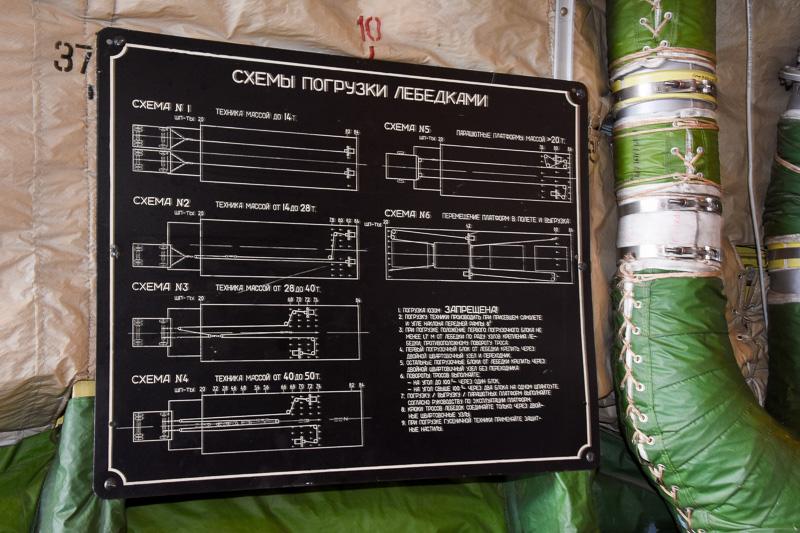 ヴォルガ・ドニエプル航空で運用する機材ということで、操作盤などもロシア語表記