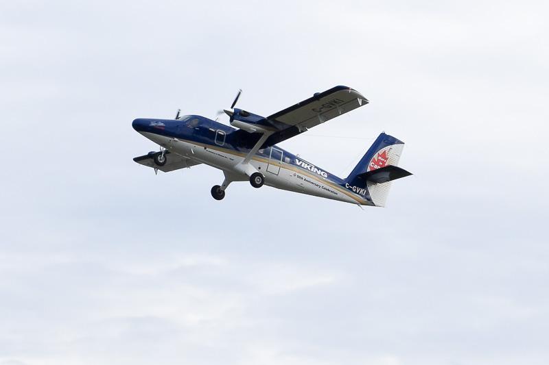 初就航から50周年を迎えたツインオッターことDHC-6-400型機