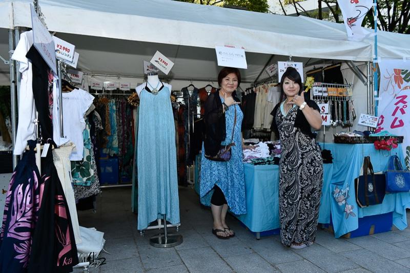 女性用ドレスを販売している「ハワイアン・ガーデン・マウオアフ」
