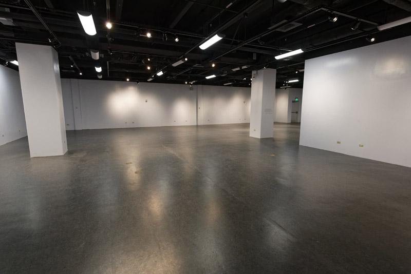 企画展が開催される展示室になる予定