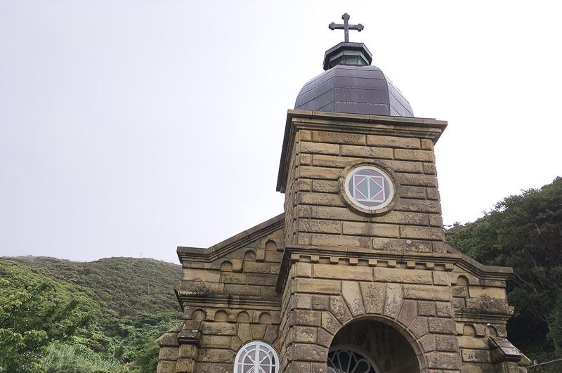 世界遺産候補である頭ヶ島天主堂